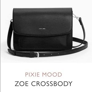 NWT Pixie Mood | Zoe Black Crossbody Bag